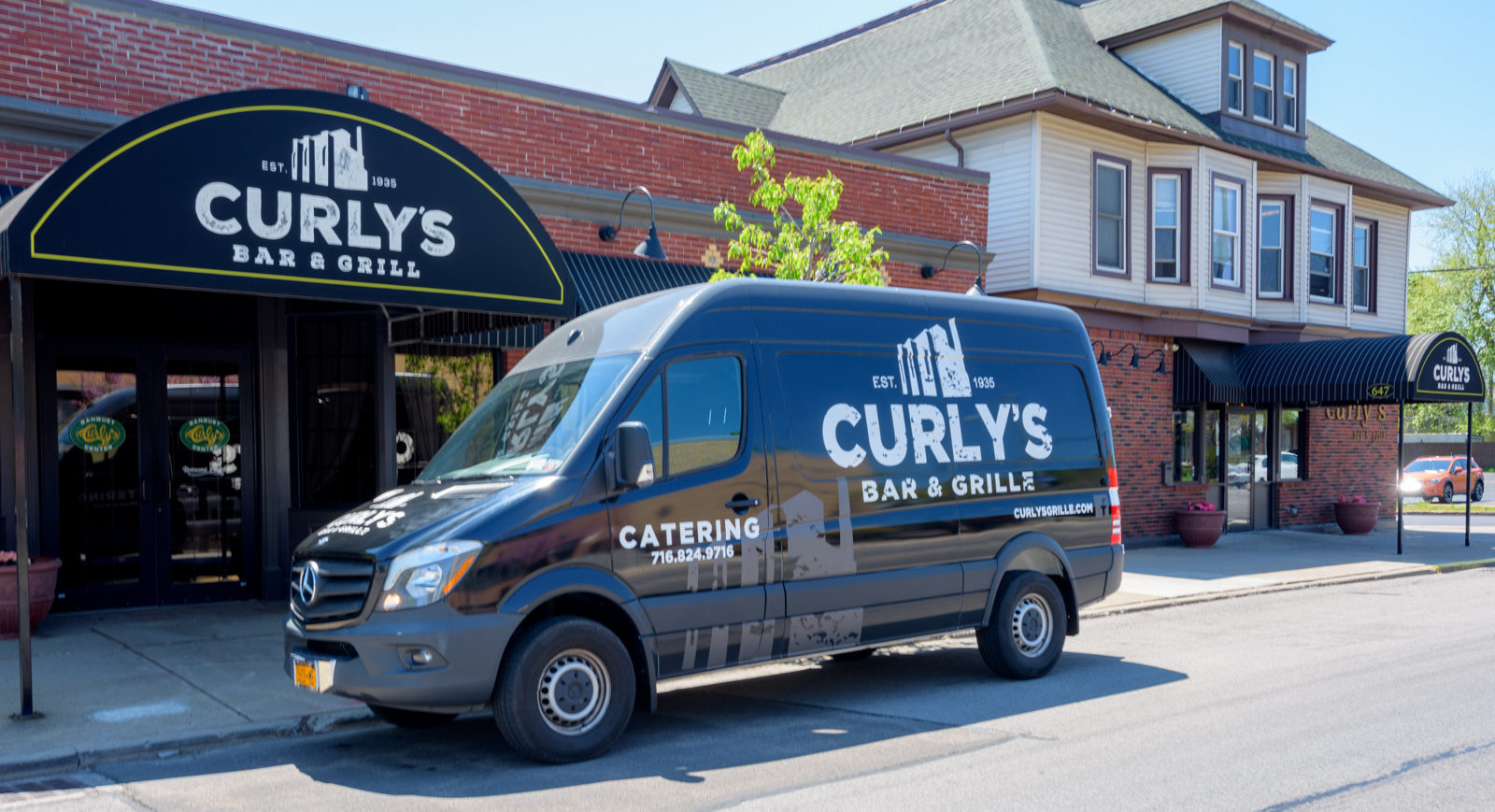 catering van curly's restaurant